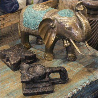 brass-elephant-wooden-spice-boxes